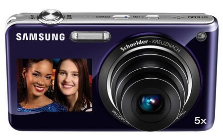Samsung DualView ST600 digital camera front