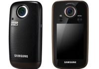 Samsung HMX-E10 Pocket-sized Full HD Camcorder black