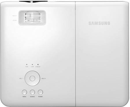 Samsung SP-M220W, SP-M225W, SP-M250W and SP-M255W Projectors TOP
