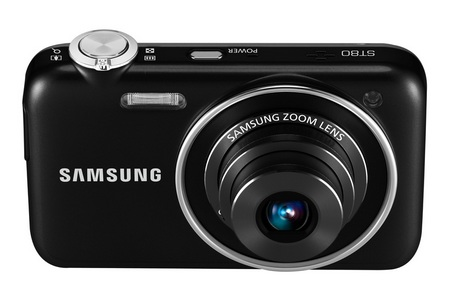 Samsung ST80 WiFi-capable Digital Camera front