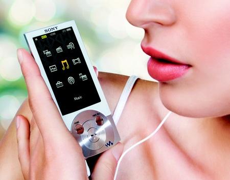 Sony Walkman NWZ-E450 Series PMP with Lyrics Sync and Karaoke silver
