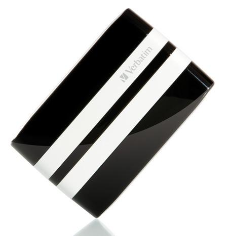 Verbatim GT Car Racing-Inspired Portable Hard Drive black