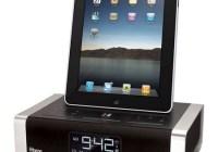 iHome iA100ZE App Enhanced Alarm Clock Docks iPad