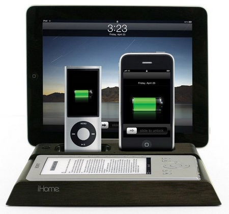 iHome iB969 Charging Station for iPad, iPhone and iPod