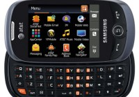 AT&T Samsung Flight II SGH-A927 QWERTY Messaging phone keyboard