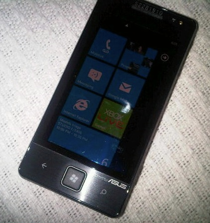 Asus Windows Phone 7 Smartphone Leaked