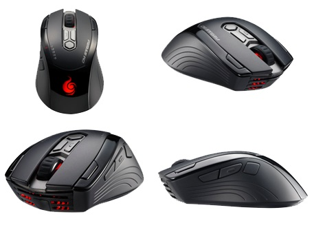 CM Storm Inferno Gaming Mouse angle views