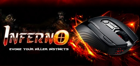 CM Storm Inferno Gaming Mouse