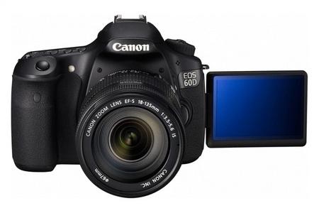 Canon EOS 60D Digital SLR Camera lcd