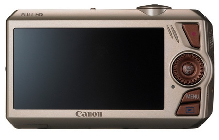 Canon PowerShot SD4500 IS with 10x Optical Zoom back