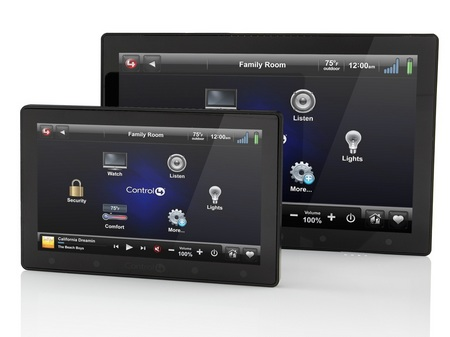 Control4 InfinityEdge In-wall Touchscreens