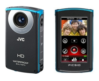 JVC PICSIO GC-WP10 Waterproof Full HD Pocket Camcorder