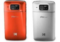 Kodak PLAYTOUCH Pocket Video Camcorder Cabana Orange and Chrome