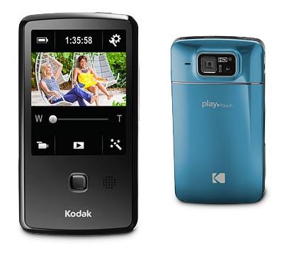 Kodak PLAYTOUCH Pocket Video Camcorder Spa Blue Teal