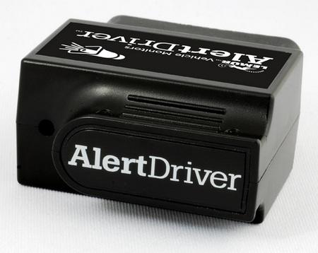 Lemur AlertDrive car speed monitor