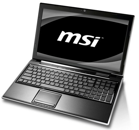MSI FX600 Stylish Notebook with THX TruStudio PC