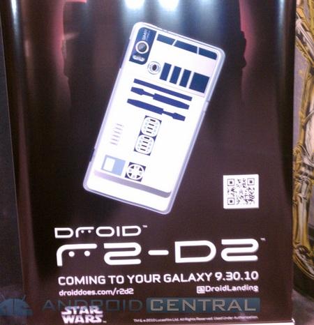 Motorola DROID 2 R2-D2 30 september