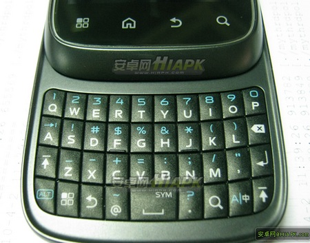 Motorola XT300 Android QWERTY Slider keyboard