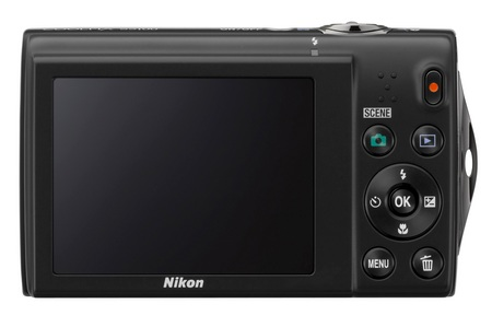 Nikon CoolPix S5100 Point-and-Shoot Camera with 720p Video back