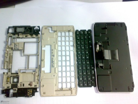Nokia N9 Disassembled keyboard