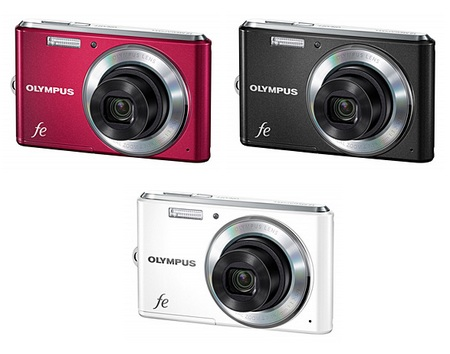 Olympus FE-4050 digital camera colors