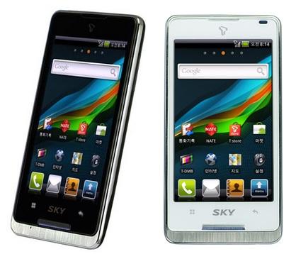 Pantech SKY Vega IM-A650S Android Phone for Korea
