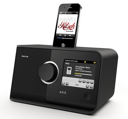 REVO AXiS Digital Radio with iPhone iPod Dock
