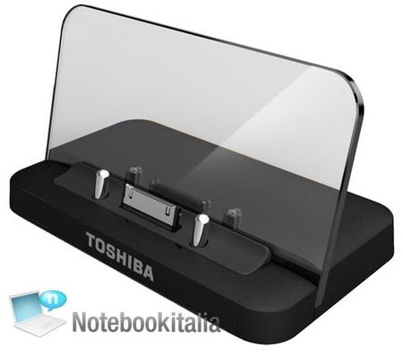 Toshiba Tablet Folio 100 runs Android 2.2 with Tegra 2 dock