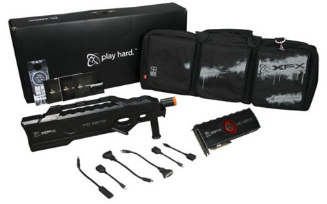 XFX Radeon HD5970 Limited Black Edition package