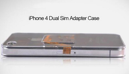 iPhone 4 Dual SIM Case side