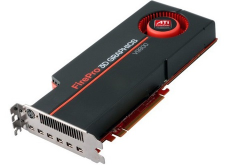AMD ATI FirePro V9800 Professional Graphics Card