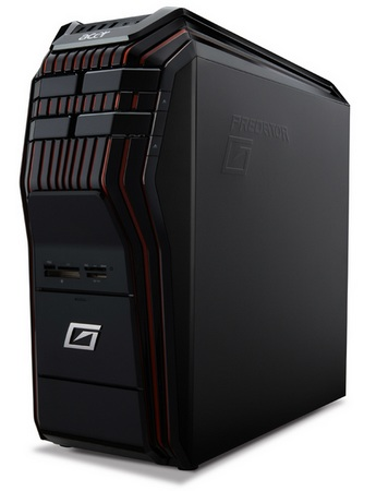 Acer Aspire Predator AG5900-N74FG Gaming PC angle