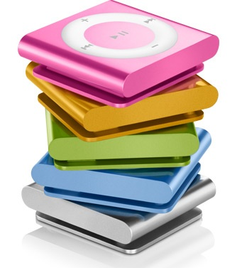 Apple iPod shuffle 4G gets buttons back