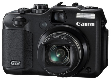 Canon PowerShot G12 with HD Video Recording 2