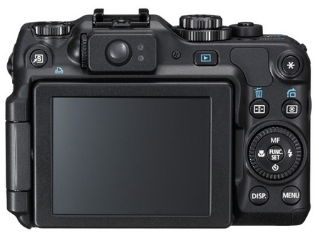 Canon PowerShot G12 with HD Video Recording back
