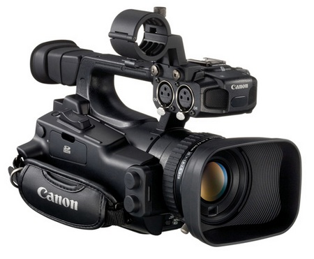 Canon XF105 and XF100 Professional Camcorders.