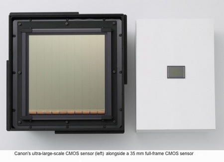Canon World's Largest CMOS Image Sensor