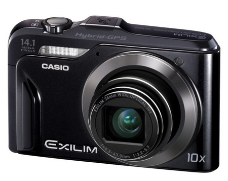 Casio EXILIM EX-H20G Hybird GPS Digital Camera
