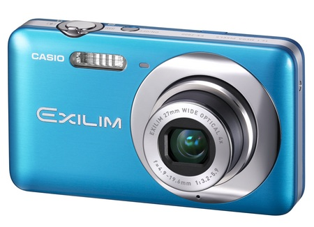 Casio EXILIM ZOOM EX-Z800 Zoom Camera blue