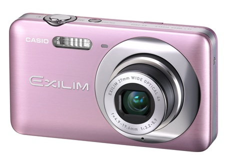 Casio EXILIM ZOOM EX-Z800 Zoom Camera soft pink
