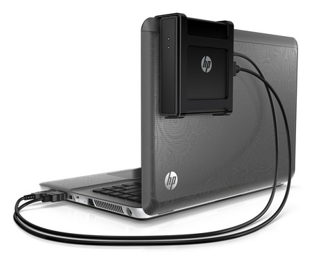 HP Wireless TV Connect streams media from notebook to HDTV hooked up