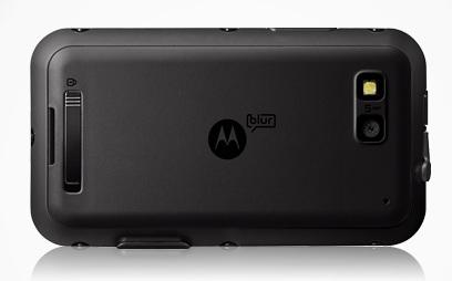 Motorola Defy Rugged Android Smartphone back