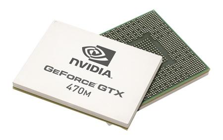 NVIDIA GeForce 400M Series GPUs GTX 470M
