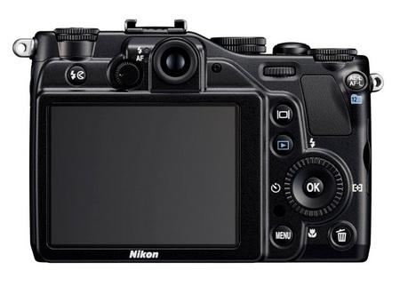 Nikon CoolPix P7000 Prosumer Digital Camera back