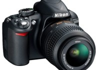 Nikon D3100 Entry-level DSLR angle