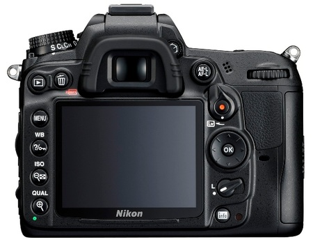 Nikon D7000 DSLR Camera 1080p Full HD Video back