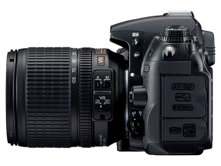 Nikon D7000 DSLR Camera 1080p Full HD Video left
