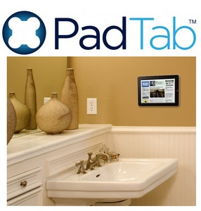 PadTab - Mounting Kit for iPad and Tablet PC