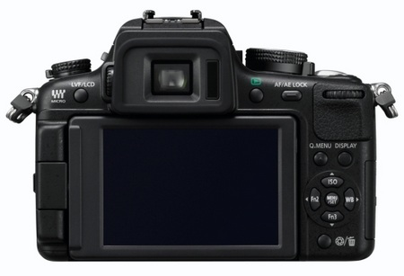 Panasonic LUMIX DMC-GH2 Hybrid Touch-Control Micro Four Thirds Camera back