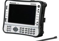 Panasonic Toughbook U1 Ultra Rugged UMPC with numeric keypad